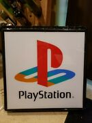 Playstation N64 Lighted Sign Retro