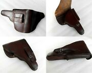 Wwii Original Gun Bulgarian Kingdom Army Officers Holster Walther Luger