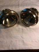 1914 Cadillac Brass Gray And Davis Cowl Lamps In Excellent Cond A Left And Right