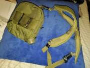 Miltary 2 Qt. Insulated Collapsible Water Canteen Cover With Sling Combat Used