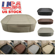 Leather Car Cover Seat Protector Cushion Front Cover Accessories For Ford F-150