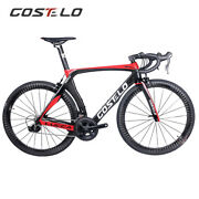 Costelo Lucca Carbon Road Complete Bike Frameset Wheels Shimano 105 Group Tire