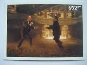 James Bond Autograph And Relics 2013 Base Card Gold Parallel 50