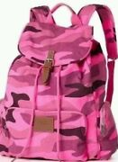 Victoria's Secret Pink Pink Camo Classic Backpack Full Size Book Bag