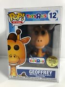 Funko Pop Ad Icons 12 Toysrus Geoffrey Golden Ticket Original Sealed