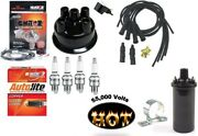 Electronic Ignition Kit And Hot Coil John Deere 1010 2010 Tractor Prestolite Dist