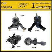 4 Pcs Motor And Trans Mount For 2009-2013 Toyota Highlander 2.7l - Auto Trans