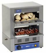 Commercial Hot Dog Making Machine 25 Buns And 90 Sausages Trade Fast-food.