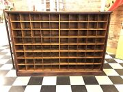 Antique Mail Sorting Cupboard