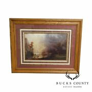 Sierra Nevada Morning By Albert Bierstadt Reproduction, Lithograph On Paper