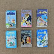 Vhs Vcr Video Cassette Tape Pin 2018 2019 Disney Movie Le 1500 Limited Edition