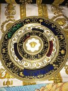 Versace Charger Plate Baroque Roll Medusa Wall Large 13 New Rosenthal Sale