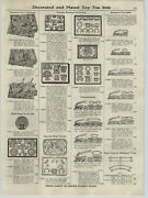 1921 Paper Ad Overland Ives' Mechanical Toy Trains Weeden Steam Engines Hot Air