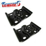 2pc Ford Rear U Bolt Top Plate For 99-10 F-250 350 Superduty Excursion E-250 350