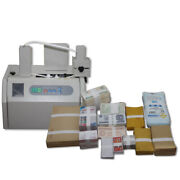 Automatic Banknote Invoice Bill Banding Machine Paper Tape Money Strapping 110v