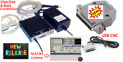 Sherline 8760 Cnc Controller + Mach3 License + Usb-cnc For Windows Os Only