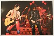 Queen Poster Freddie Mercury Brian May On Stage