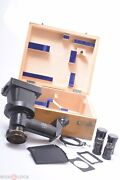✅ Zeiss Photo-micrographic Plate Camera Jug Handle Antique Brass Microscope