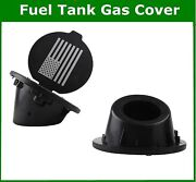 Fits Jeep Wrangler Jk Unlimited Accessories 07-17 Abs Fuel Tanks Cover Gas Cap