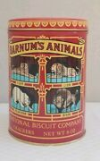 Barnumand039s Animals Crackers National Biscuits Co. Animal Tin Collectors Euc