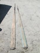 Amazing Antique 20' Whaling Boat Oars