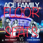2 Floor Seats Ace Family Basketball Game