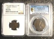 Colonial Anti-slavery Tokens Ngc 1795 Thomas Paine And Pcgs Nd Am I Not A Man