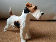 Alton England Bone China Wire Haired Fox Terrier