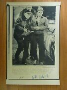 Ap Wire Press Photo- Robert Ludwig Jr. Kills Father With Ax Police Officers 1984