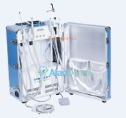 Greeloy Mobile Portable Dental Unit With Air Compressor +curing Light +scaler