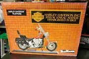 Gte Telemania Harley Davidson Motorcycle Touch Tone Telephone New In Box