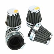 Innoglow 4pcs Motorcycle Air Filter Universal 50mm Pod Filters Cleaner For Ho...