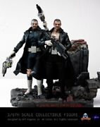 Art Figures 1/6 Marvel Comic Punisher Aidol 1 Alpha And Beta Edition Collectible