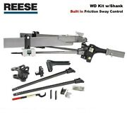 800 Bar Reese Sc Trunnion Weight Distribution Hitch And Built-in Friction Sway