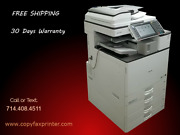 Ricoh Mp C2503 Copier Printer Scanner With Stapling Finisher Low Meter