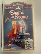 The Sword In The Stone Vhs Masterpiece Collection