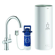 Grohe Faucet And Boiler Red Duo 30079