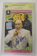 Cbcs Graded 8.0 Vf Austin Powers Special Edition Nn 1999 Signed Robert Wager