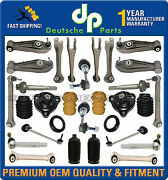 Porsche 997 C4 4s Turbo Front+ Rear Control Arms Ball Joints Suspension Kit 30