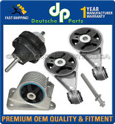 Engine Motor Mount Mounts L And R, Front And Rear For Mini Cooper S 2003-2004 Set 5