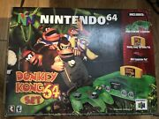 Donkey Kong Nintendo 64 1999 Special Edition Green Brand New