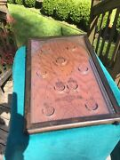 1930and039s Pinball Game Vintage Nw Mailbox Co. Andldquopoosh-m-upandrdquo Brown Clown Table Top.