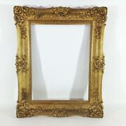 29 1/8x23 3/16in Painting Picture Frame Antique Mirror Antique Photo Gold Frame