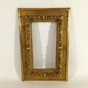 18 1/8x12 3/16in Painting Picture Frame Antique Impressionism Baroque Gold