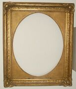 49 3/16x40 3/16in Painting Picture Frame Antique Baroque Rococo Photo Gold