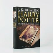 J. K. Rowling Harry Potter And The Half-blood First Edition - Signed