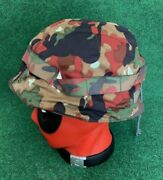 Vintage German Army Military Helmet With Linerandcover Size 54-58 Made In Germany