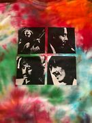 Rare Vintage 1992 Beatles Let It Be Size Xl 2-sided Print Tie-dye Preowned