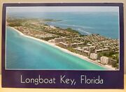 Florida New Longboat Key Aerial View Of Luxury Condos Homes Beach Front Hotels