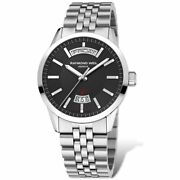 Raymond Weil Freelancer Automatic Black Dial Ss 42mm Menand039s Watch 2720-st-20001